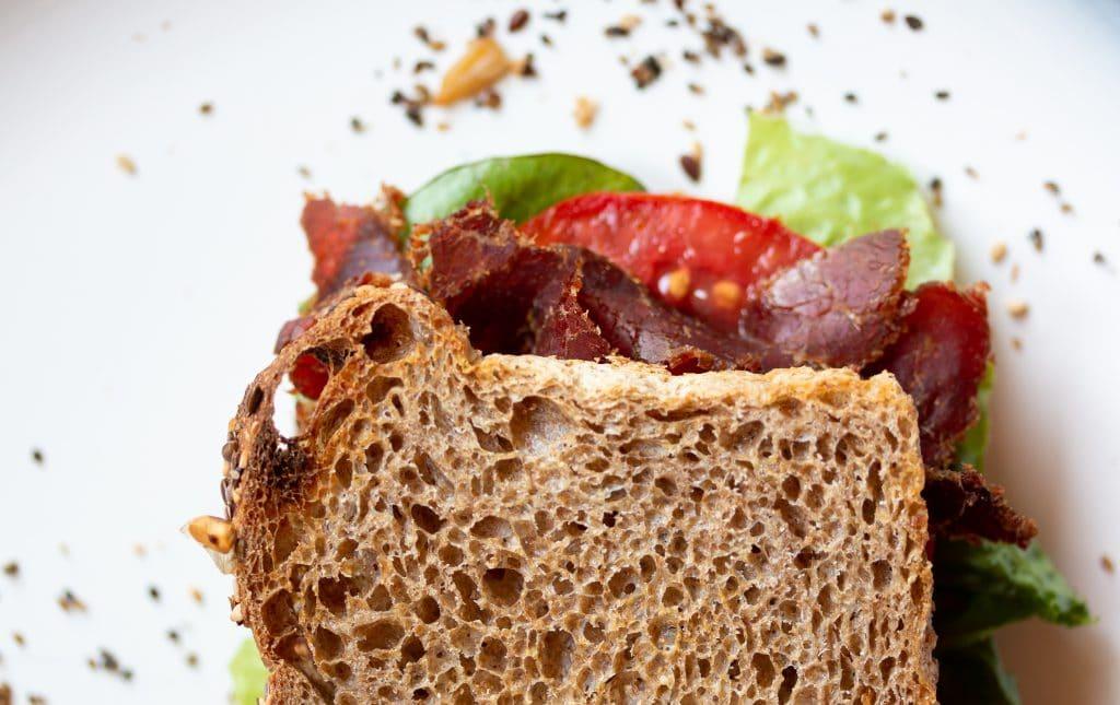 Kalahari Biltong BLT, the perfect sandwich