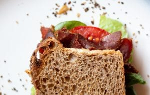 Kalahari Biltong BLT, the perfect sandwich