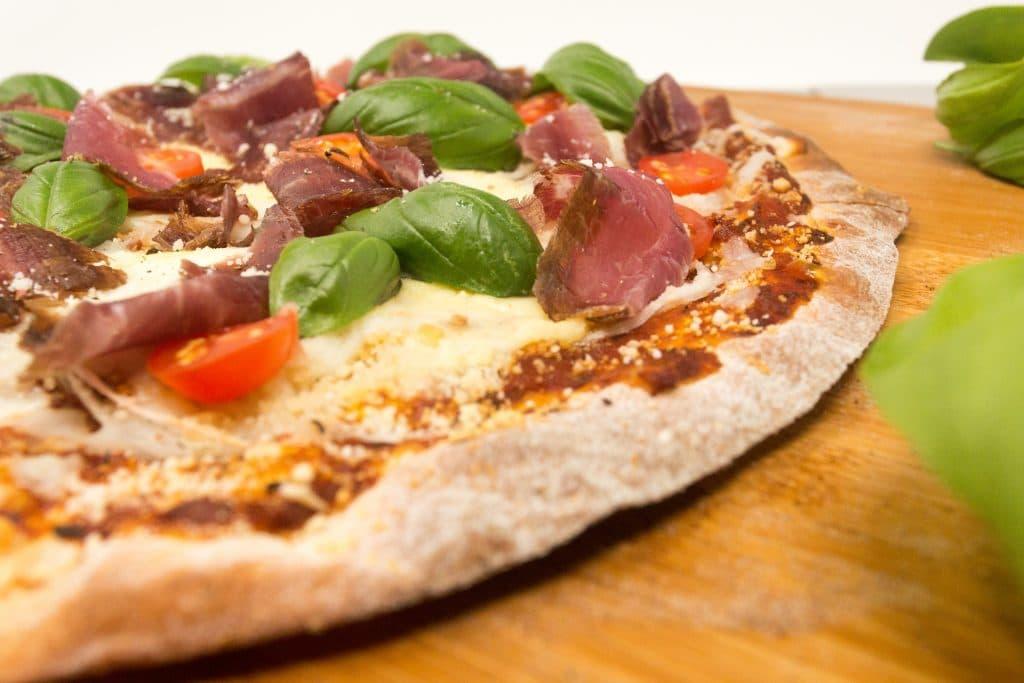 Kalahari Biltong Pizza, forget sausage and bacon.
