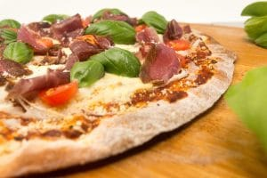Kalahari Biltong Pizza, forget sausage and bacon.