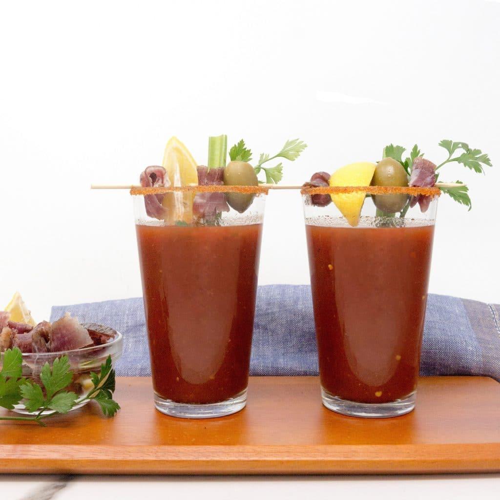 Kalahari Biltong Bloody Mary, Perfect for Brunch