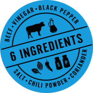 Kalahari Biltong 6 Ingredients Seal